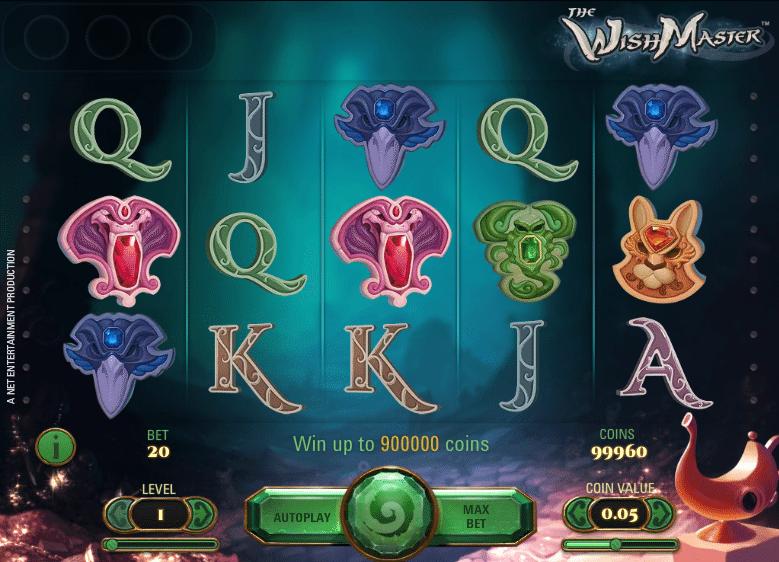 The Wish Master Slot Machine - How to Play