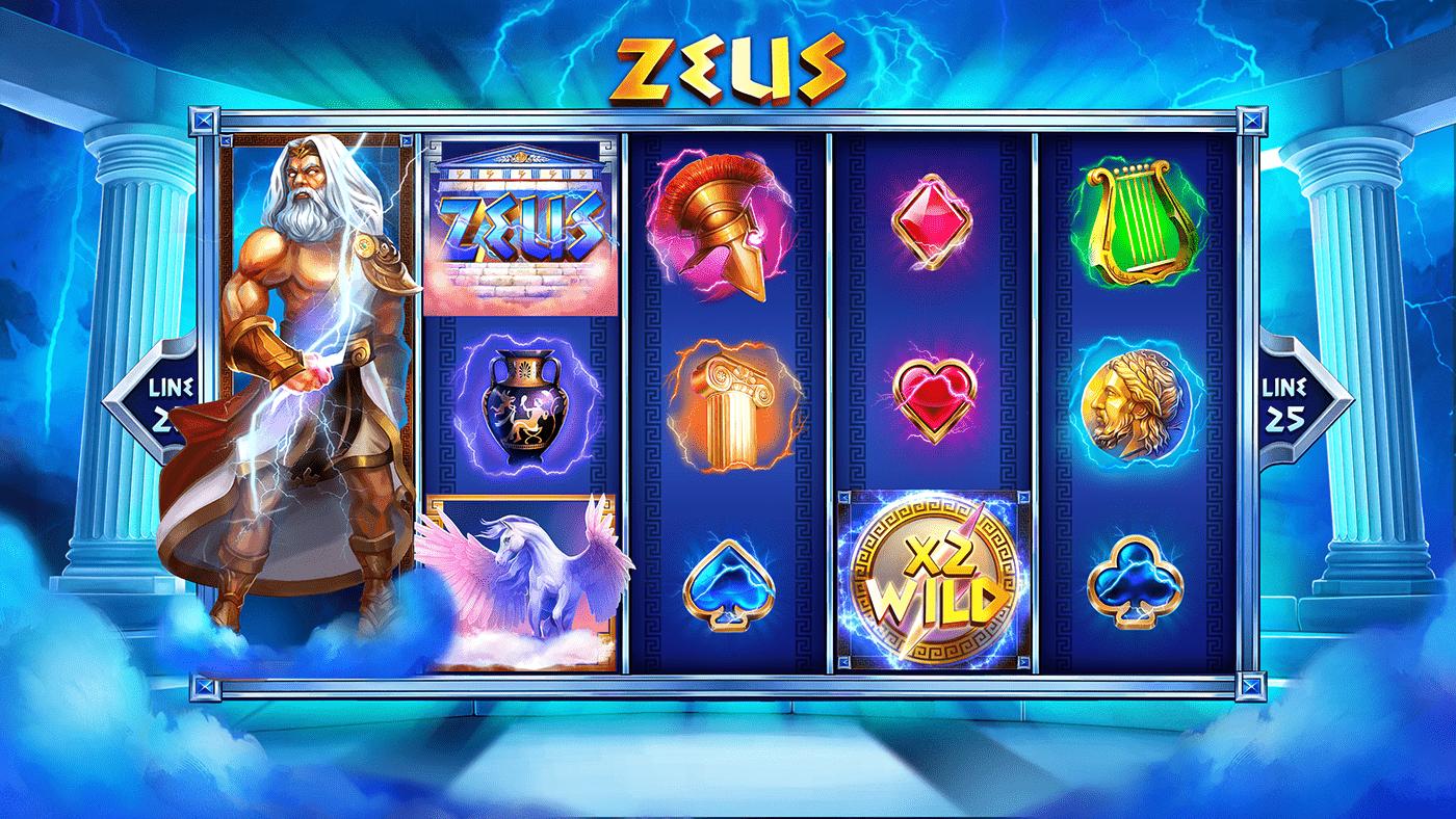 Zeus Slot Machine - How to Play